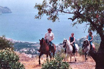 Trekking above La Herradura on the Costa Tropical